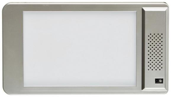 Aufbauleuchte 103374077 - Nickelfarben, Kunststoff (10,7/1,1/18,7cm)