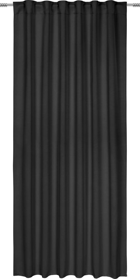 Sötétítőfüggöny Riccardo - Fekete, modern, Textil (140/245cm) - Mömax modern living