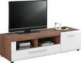 Tv-element Avensis - aluminij/črna, Moderno, umetna masa/leseni material (149,3/41,1/49,6cm) - Mömax modern living