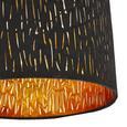 Mennyezeti Lámpa Samti - Arany/Fekete, Lifestyle, Fém/Textil (30/21cm) - Modern Living