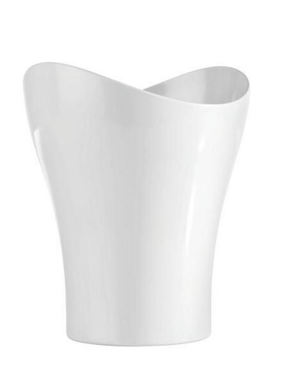 Kozmetični Koš Bella - bela, Konvencionalno, umetna masa (23,47/27,86cm) - Mömax modern living