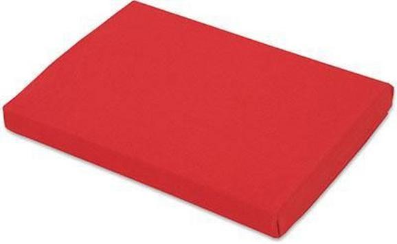 Spannleintuch Basic in Rot, ca. 100x200cm - Rot, Textil (100/200cm) - MÖMAX modern living
