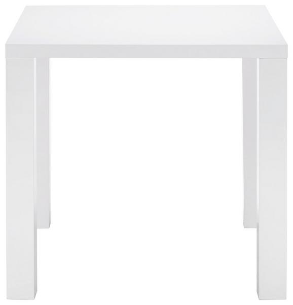 Esstisch Weiß Hochglanz - Weiß, MODERN, Holzwerkstoff (80/75/80cm) - MÖMAX modern living