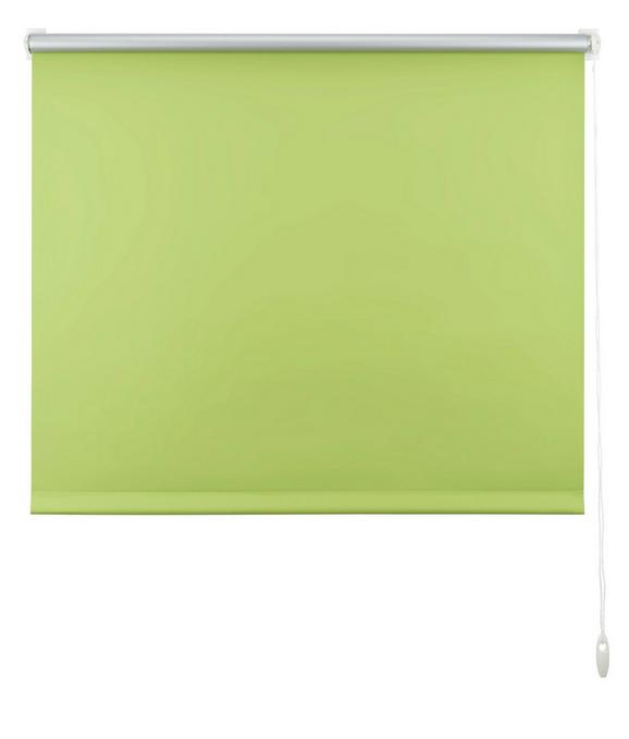 Klemmrollo Thermo in Grün, ca. 100x150cm - Grün, Textil (100/150cm) - Premium Living