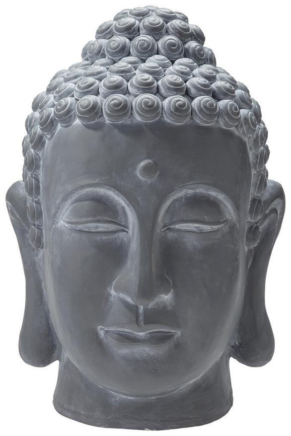 Glava Bude Dawn - siva, Trendi, umetna masa (50/62/45cm) - Mömax modern living