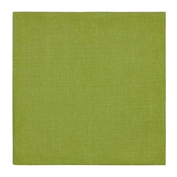 Párnahuzat Leinenoptik 50/50 - Zöld, konvencionális, Textil (50/50cm) - Mömax modern living