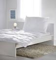 Paplan-párna Szett Sabine - Fehér, Textil - Based