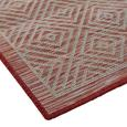 Flachwebeteppich Maxima Rot 80x150cm - Rot, MODERN, Textil (80/150cm) - Mömax modern living