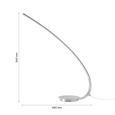 Namizna Led-svetilka Tami - krom, Konvencionalno, kovina/umetna masa (48/54cm) - Mömax modern living