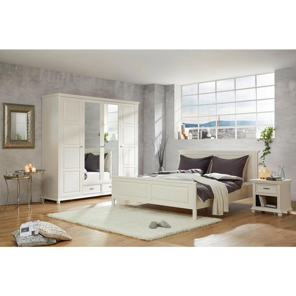 Bett Weiß 160x200cm