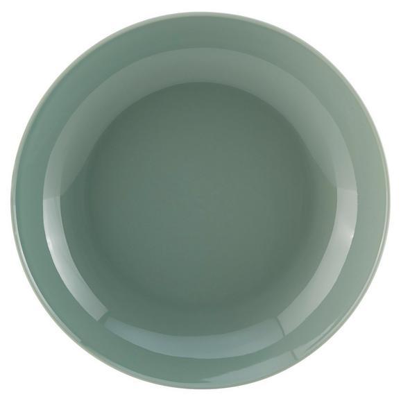 Farfurie Adâncă Sandy - verde mentă, Konventionell, ceramică (20/3,5cm) - Modern Living