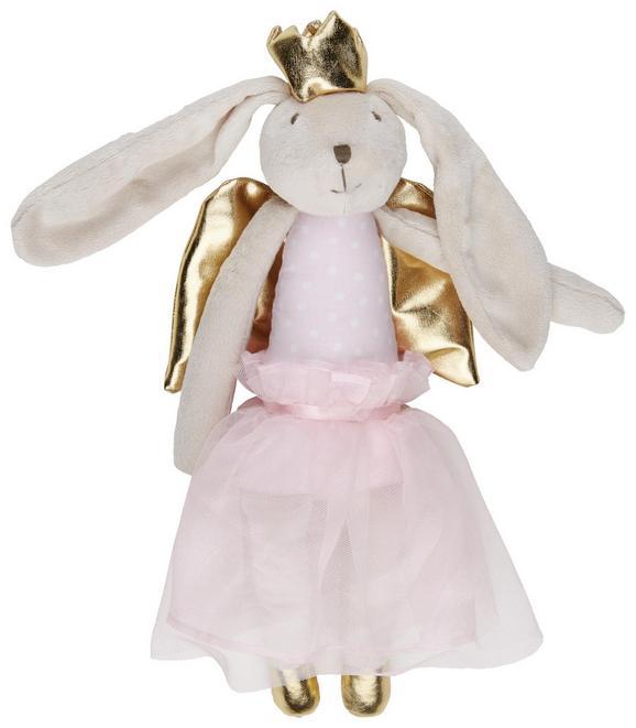 Plüschtier Bunny Weiß/blau/rosa - Rosa, Textil (36cm) - Mömax modern living
