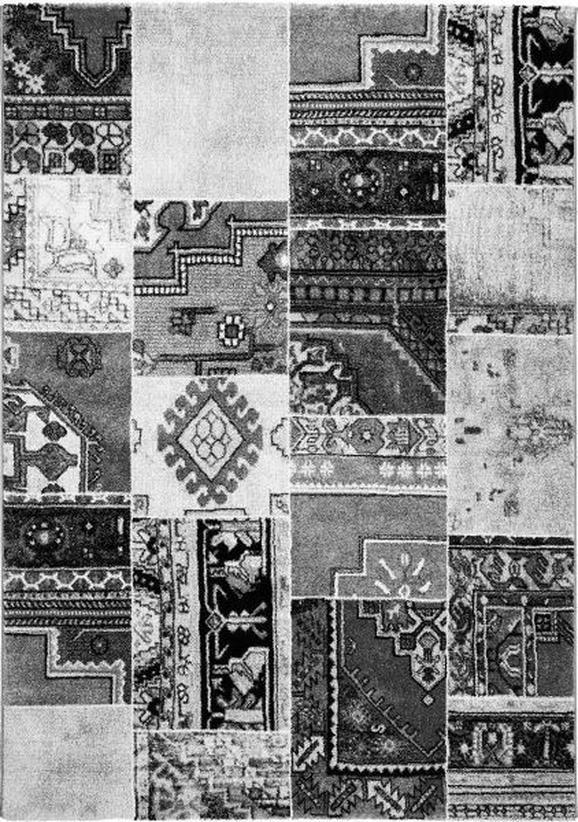 Webteppich Milano in Grau, ca. 80x150cm - Grau, LIFESTYLE, Textil (80/150cm) - Mömax modern living