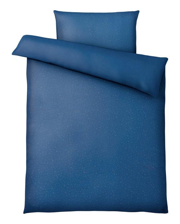 Posteljnina Sparkle - modra/zlata, Moderno, tekstil (140kg) - Mömax modern living