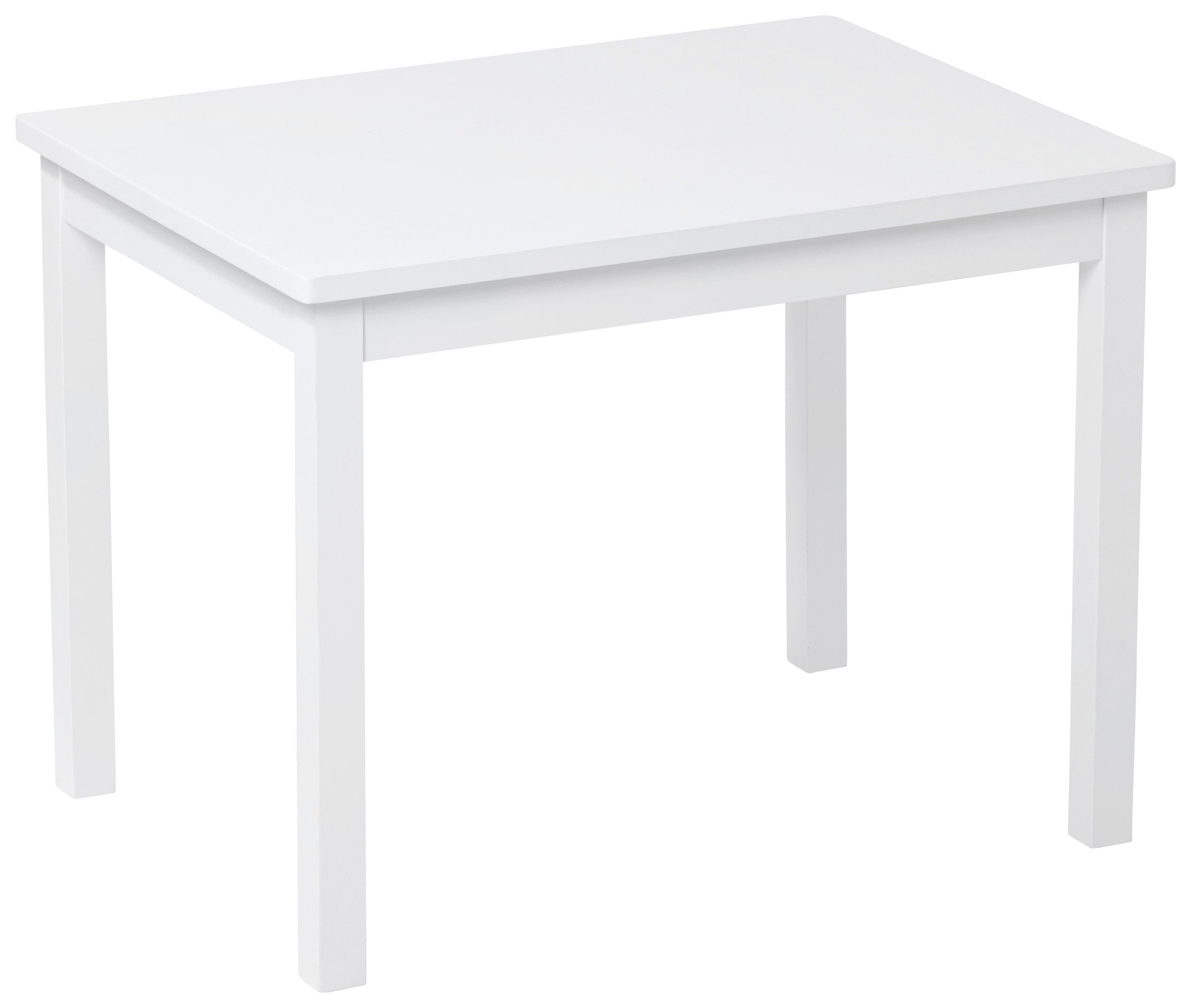 Kindertisch holz  Kindertisch in Weiß, ca. 66,5x50x50cm online kaufen ➤ mömax