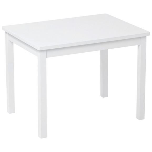 kindertisch in wei ca 66 5x50x50cm online kaufen m max. Black Bedroom Furniture Sets. Home Design Ideas