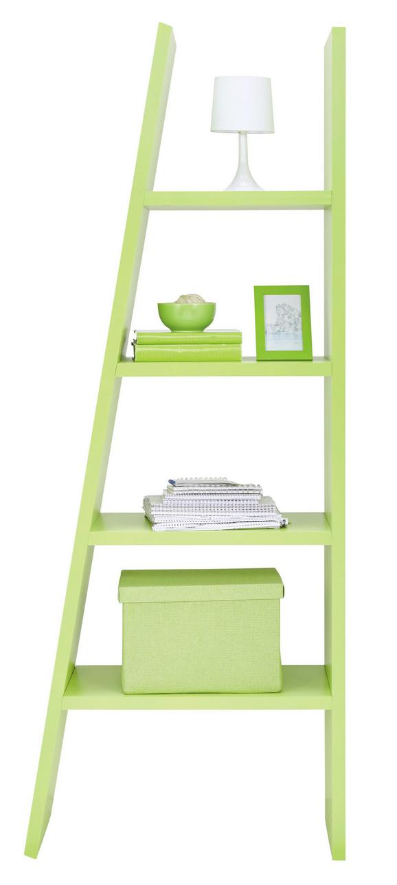Regal Funny - svetlo zelena, Moderno, leseni material (42/76/190/30cm) - Mömax modern living