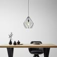 Lustră Skeletton - negru, metal (30/110cm) - Modern Living
