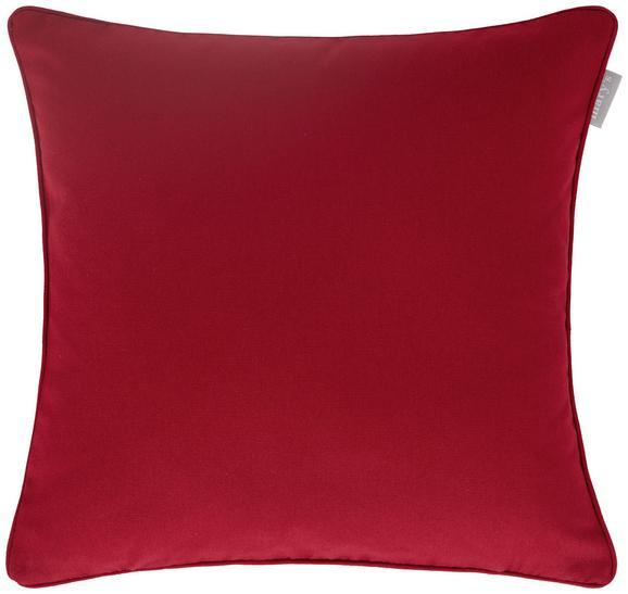 Kissenhülle Steffi Paspel, ca. 40x40cm - Rot, Textil (40/40cm)
