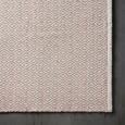 Handwebeteppich Carola Rosa, 60x120cm - Rosa, Basics, Textil (60/120cm) - Mömax modern living