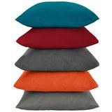 Díszpárna Java - Bézs/Piros, Textil (40/40cm) - Mömax modern living