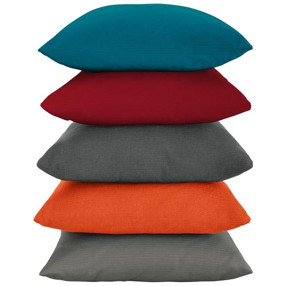 Okrasna Blazina Java - petrolej/rdeča, tekstil (40/40cm) - Mömax modern living