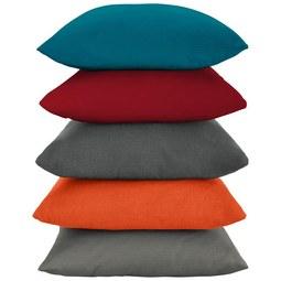 Zierkissen Java ca. 40x40cm - Beige/Rot, Textil (40/40cm) - Mömax modern living