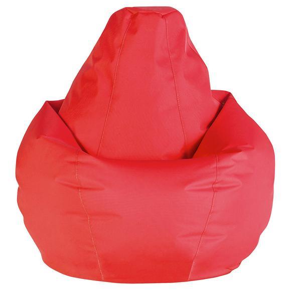 Sac De Şezut Soft L - roșu, Modern, textil (120cm) - Mömax modern living