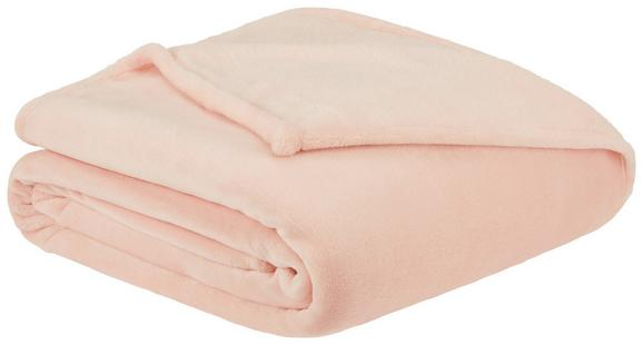 Mehka Odeja Julian - roza, tekstil (140/200cm) - Mömax modern living