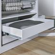 Schublade in Weiß - Weiß, MODERN, Holzwerkstoff (87,9/14/53cm) - Based