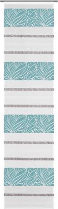 Flächenvorhang Anita Blau 60x245cm - Blau, KONVENTIONELL, Textil (60/245cm) - Modern Living