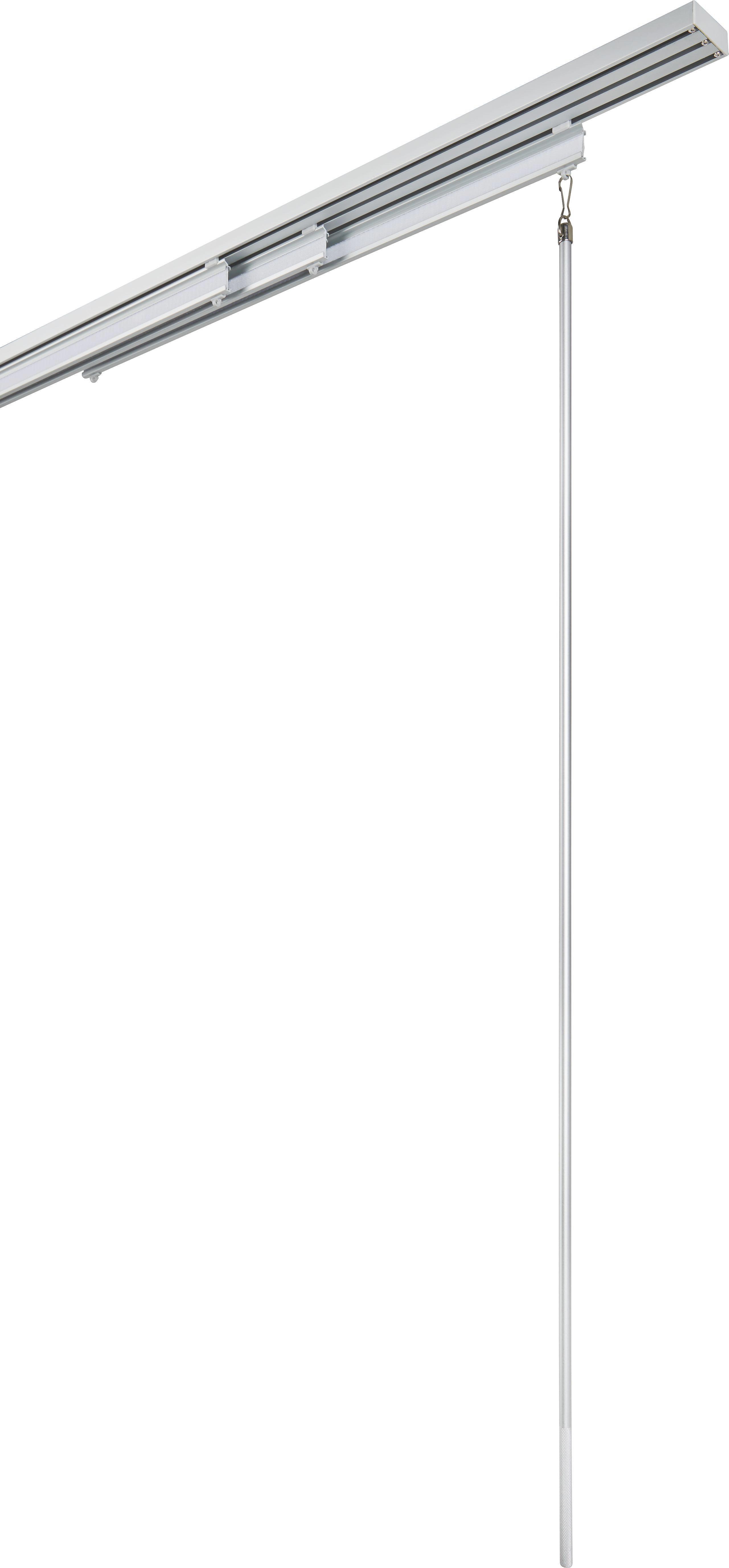 Húzópálca Grip - ezüst színű, fém (100cm) - MÖMAX modern living