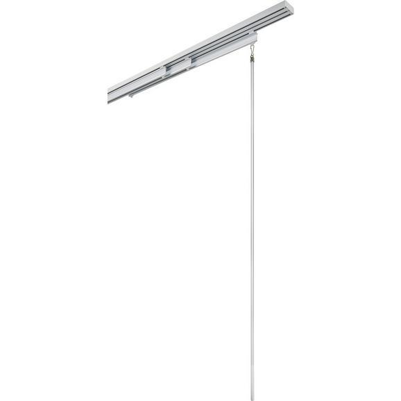 Schleuderstab Grip Silber aus Aluminium - Silberfarben, Metall (100cm) - Mömax modern living