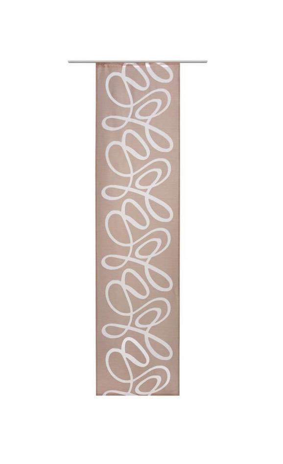 Flächenvorhang Bella in Braun, ca. 60x245cm - Braun, Textil (60/245cm) - MÖMAX modern living