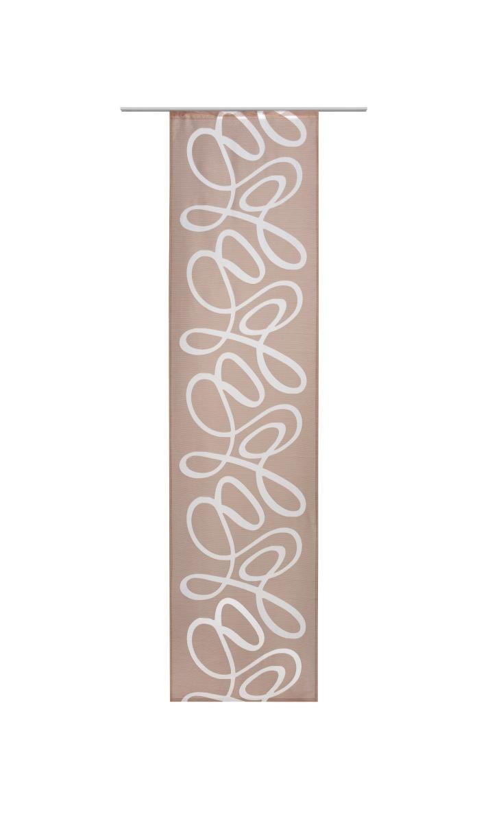 Panelna Zavesa Bella - rjava, tekstil (60/245cm) - MÖMAX modern living