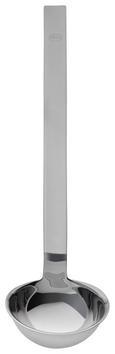 Hakenschöpflöffel Rösle - Edelstahlfarben, KONVENTIONELL, Metall (25,5/6/5cm) - Rösle