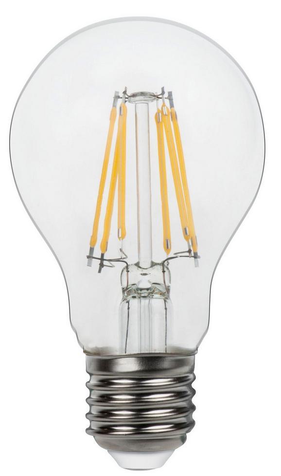 LED-Leuchtmittel Max. 6,5 Watt - Klar, Glas/Metall (6/11cm)