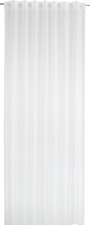 Fertigvorhang Rita in Weiß, ca. 140x245cm - Weiß, Textil (140/245cm) - MÖMAX modern living