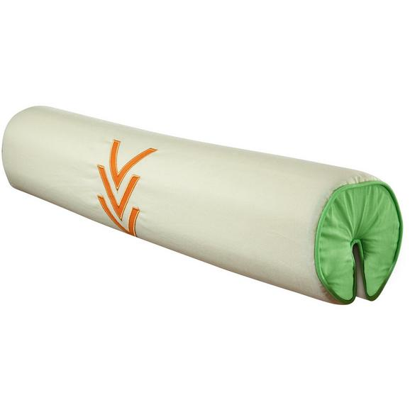 Nackenrolle Nackenrolle - Beige/Orange, Design, Textil (80cm)