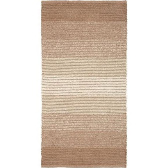 Rongyszőnyeg Malto 70/140 - Bézs, modern, Textil (70/140cm) - Mömax modern living