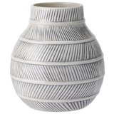 Vase Finn Weiß - Weiß, Keramik (14/15cm) - Mömax modern living