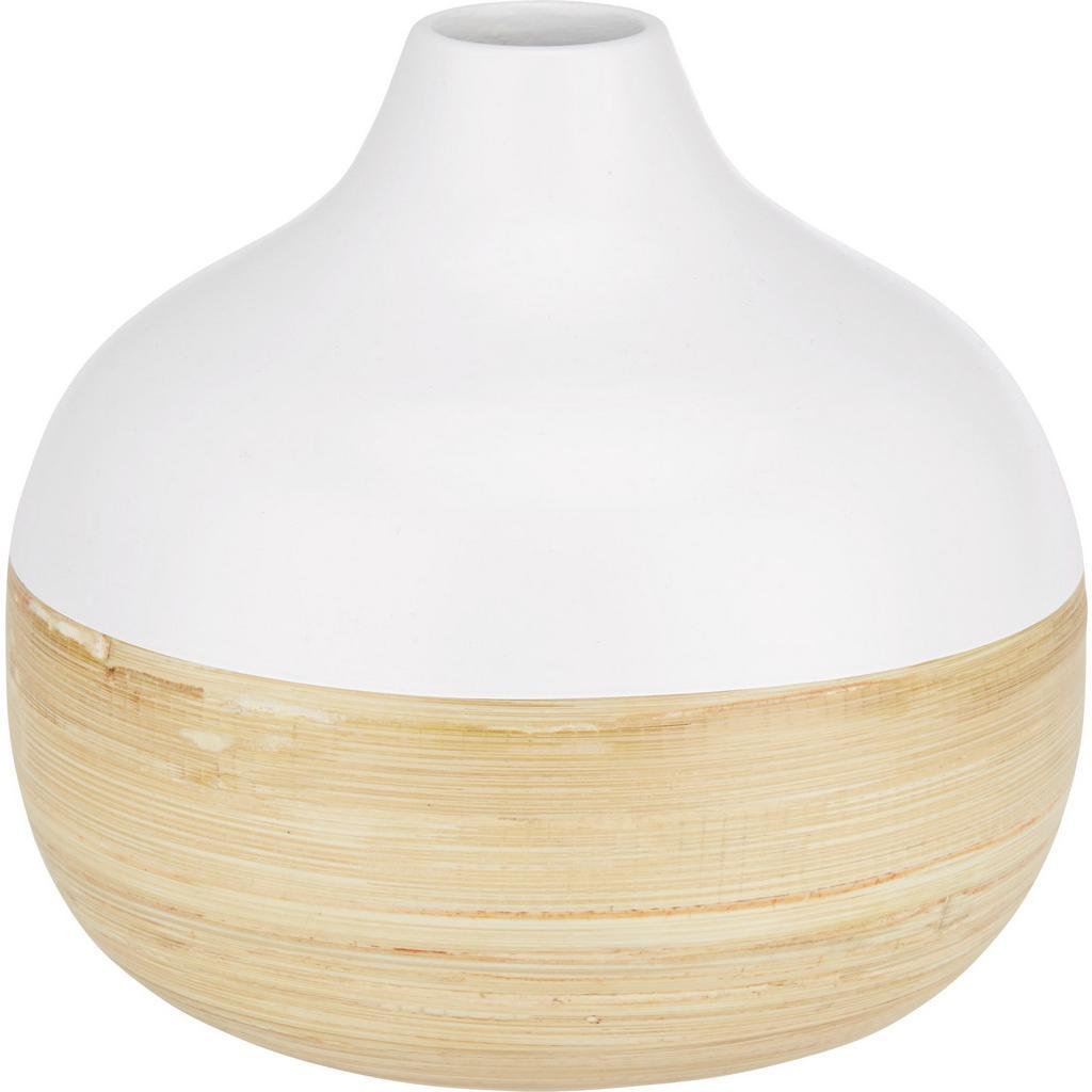 Vase Naturelle Weiß/Natur