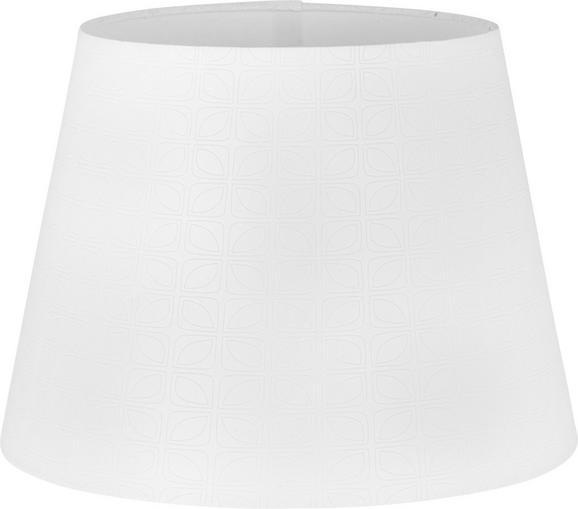 Lámpaernyő Puse - Fehér, romantikus/Landhaus, Fém/Textil (25-35/25cm) - Mömax modern living