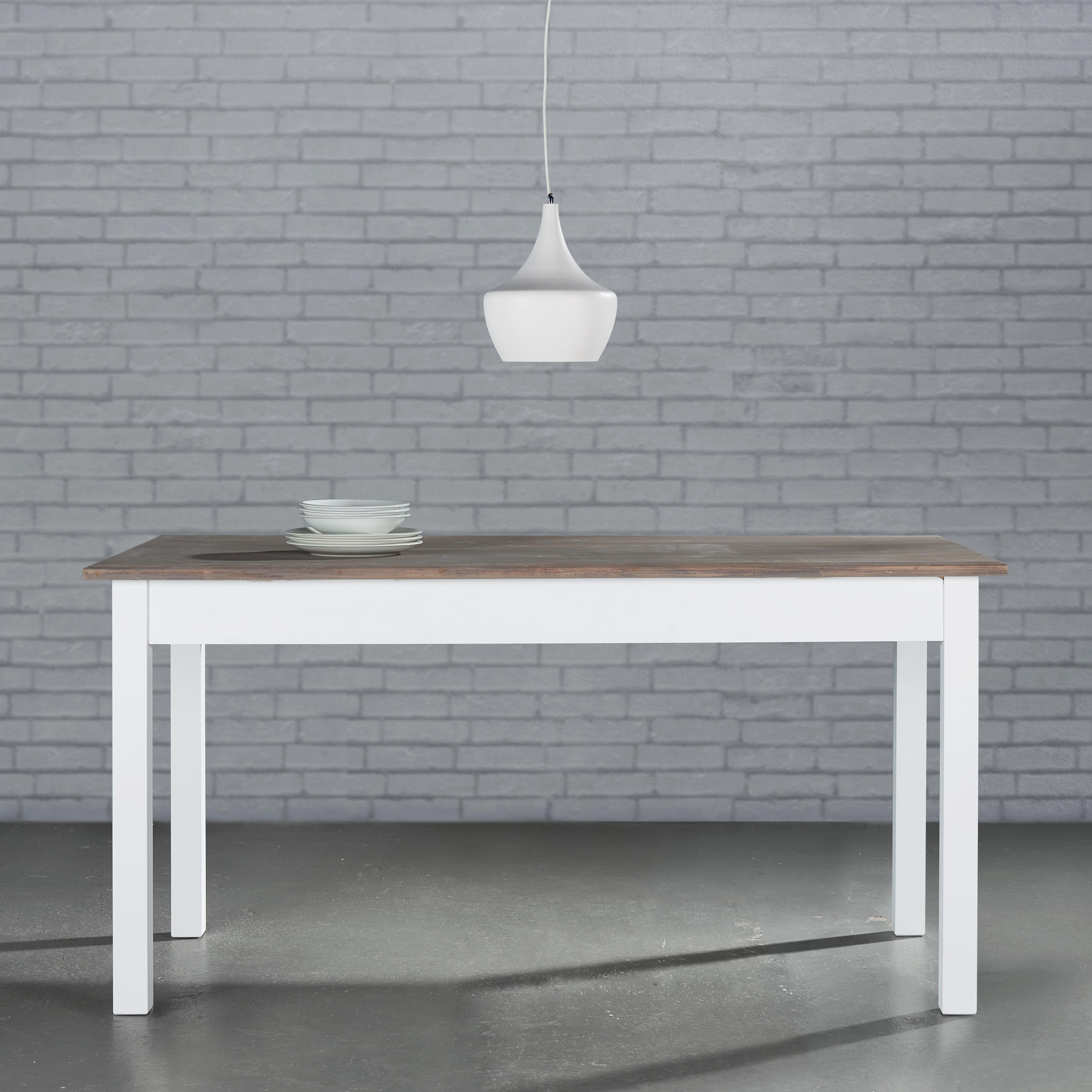 Esstisch Cookie 160x80cm - Weiß, Holz (160/80/80cm) - PREMIUM LIVING