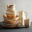 Krug Sahara aus Keramik ca. 1,3l - Weiß, LIFESTYLE, Keramik (16/12/22cm) - Zandiara