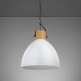 Hängeleuchte max. 60 Watt 'Harvey' - Weiß, MODERN, Metall (40/40/120cm) - Bessagi Home
