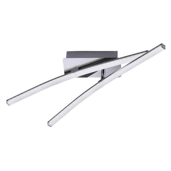 Stropna Led-svetilka Simon -eö- - nikelj, Konvencionalno, kovina (58/51/10cm)
