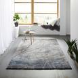 Webteppich Manchester ca. 120x170cm - Blau/Grau, MODERN, Textil (120/170cm) - Mömax modern living