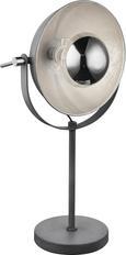 Tischleuchte Blanche Grau max. 60 Watt - Grau, LIFESTYLE, Metall (18 56 cm) - Mömax modern living