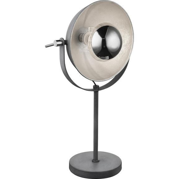 Tischleuchte Blanche Grau max. 60 Watt - Grau, LIFESTYLE, Metall (18/56cm) - Mömax modern living